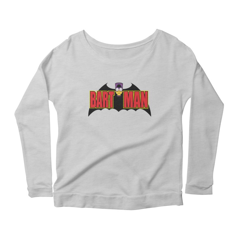 Bart Man Women's Scoop Neck Longsleeve T-Shirt by doombxny's Artist Shop