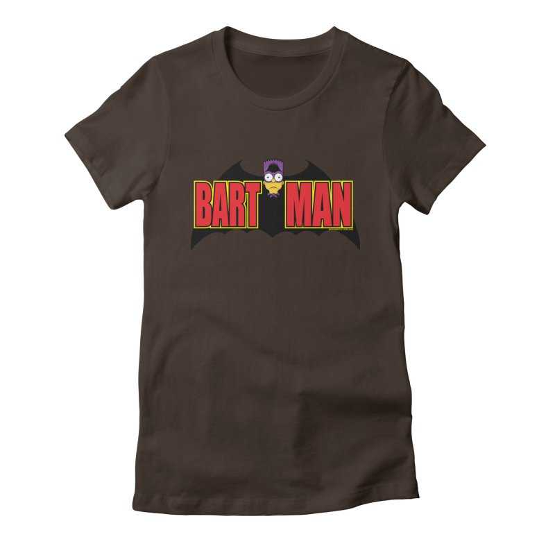 Bart Man Women's Fitted T-Shirt by doombxny's Artist Shop