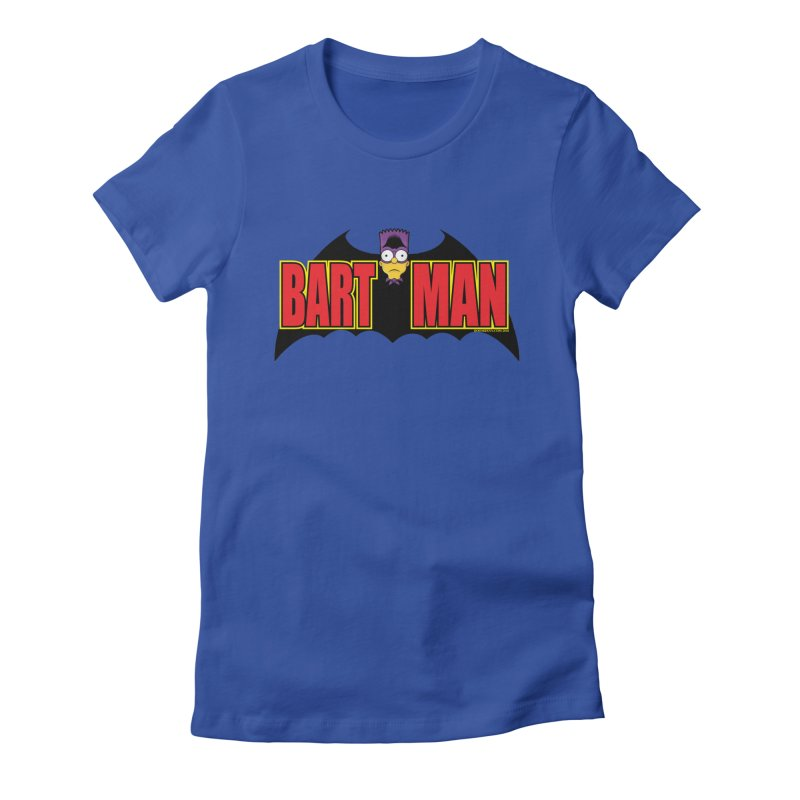 Bart Man Women's T-Shirt by doombxny's Artist Shop