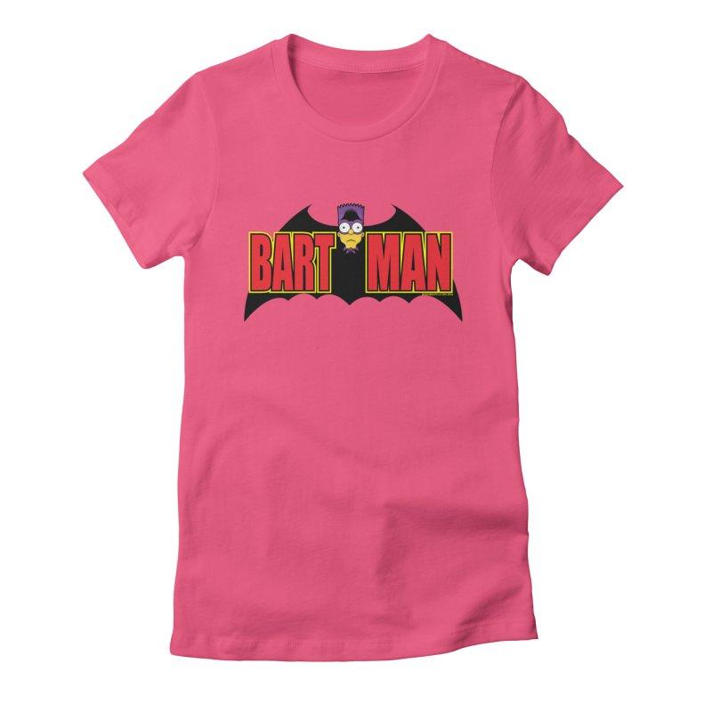 Bart Man Women's T-Shirt by doombxny's Artist Shop