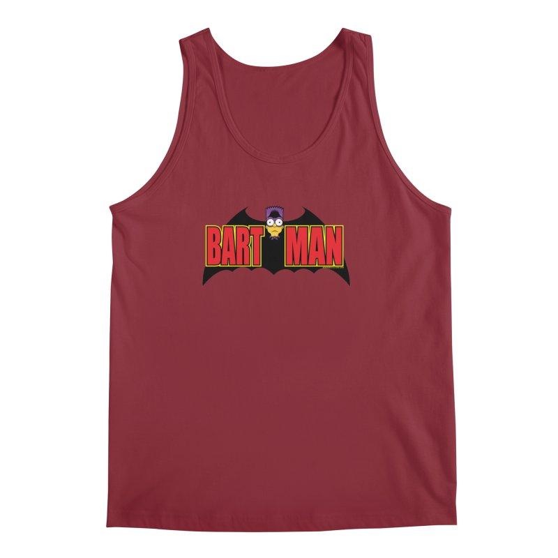 Bart Man Men's Regular Tank by doombxny's Artist Shop