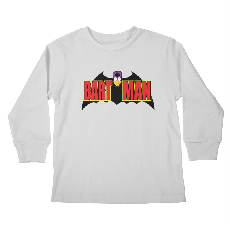 Bart Man Kids Longsleeve T-Shirt by doombxny's Artist Shop