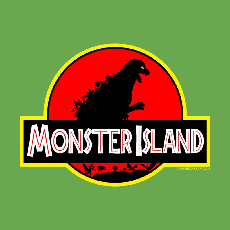Monster Island Women's Longsleeve T-Shirt by doombxny's Artist Shop