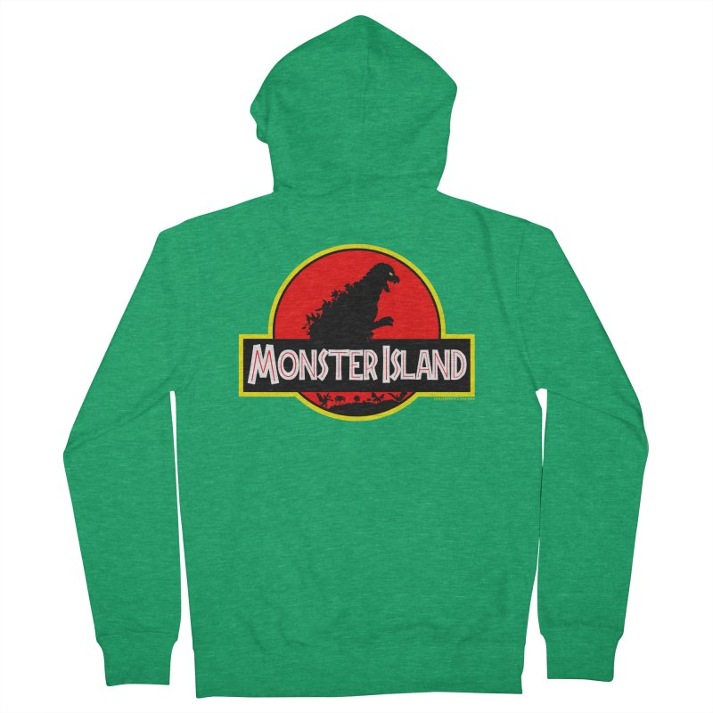 Monster Island Women's Zip-Up Hoody by doombxny's Artist Shop