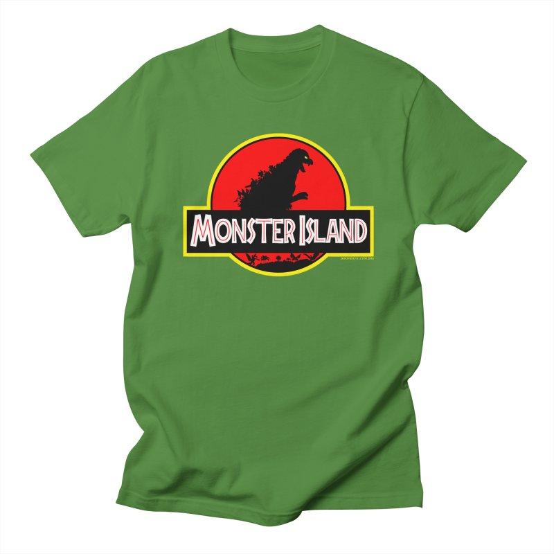 Monster Island Men's T-Shirt by doombxny's Artist Shop