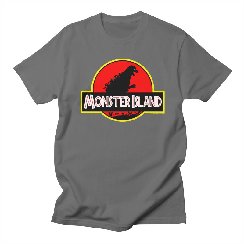 Monster Island Men's T-Shirt by doombxny's Artist Shop