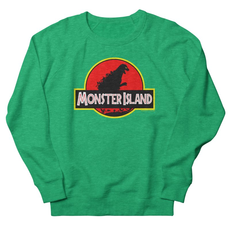 Monster Island Women's Sweatshirt by doombxny's Artist Shop