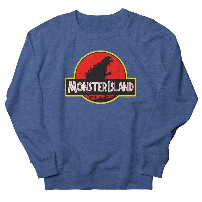 Monster Island Men's Sweatshirt by doombxny's Artist Shop