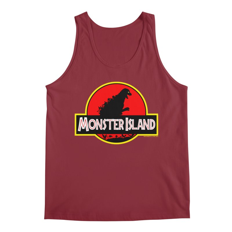 Monster Island Men's Tank by doombxny's Artist Shop