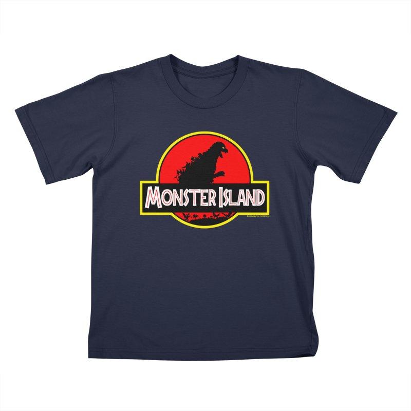 Monster Island Kids T-Shirt by doombxny's Artist Shop