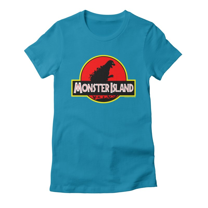 Monster Island Women's T-Shirt by doombxny's Artist Shop