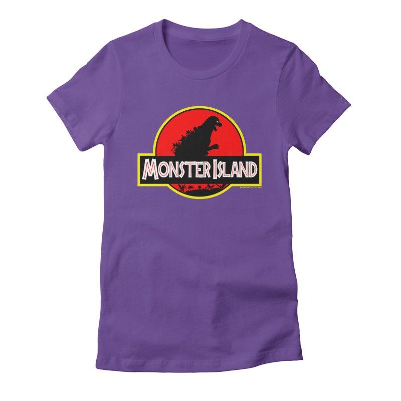 Monster Island Women's T-Shirt by doombxny's Artist Shop