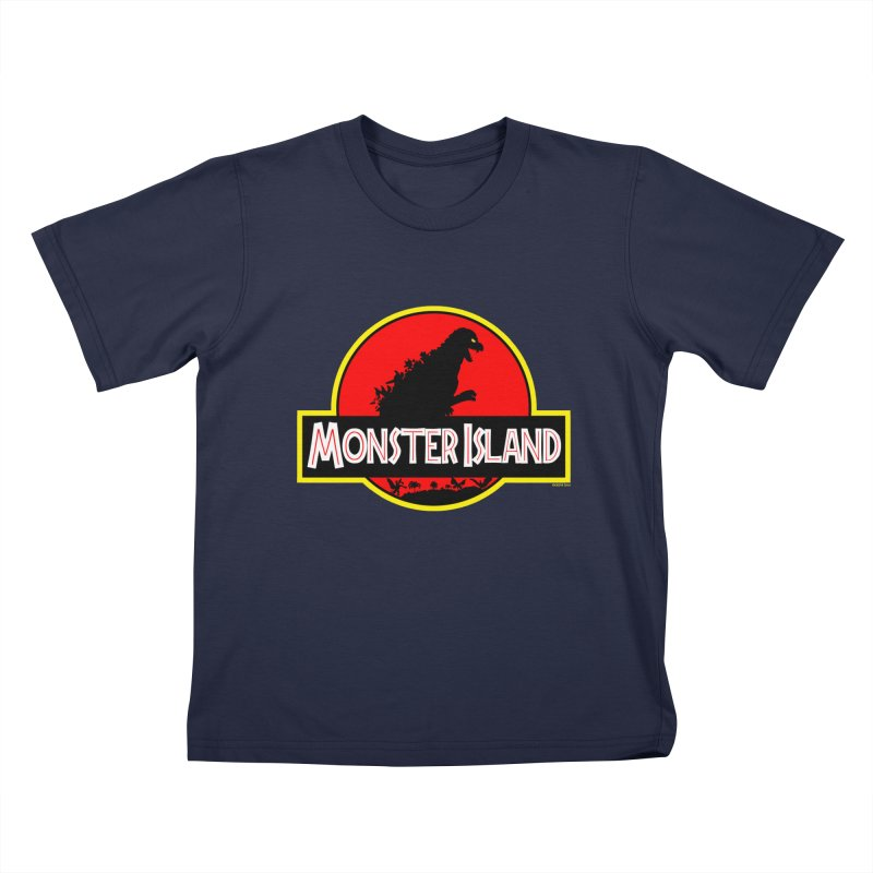 Monster Island Kids T-shirt by doombxny's Artist Shop