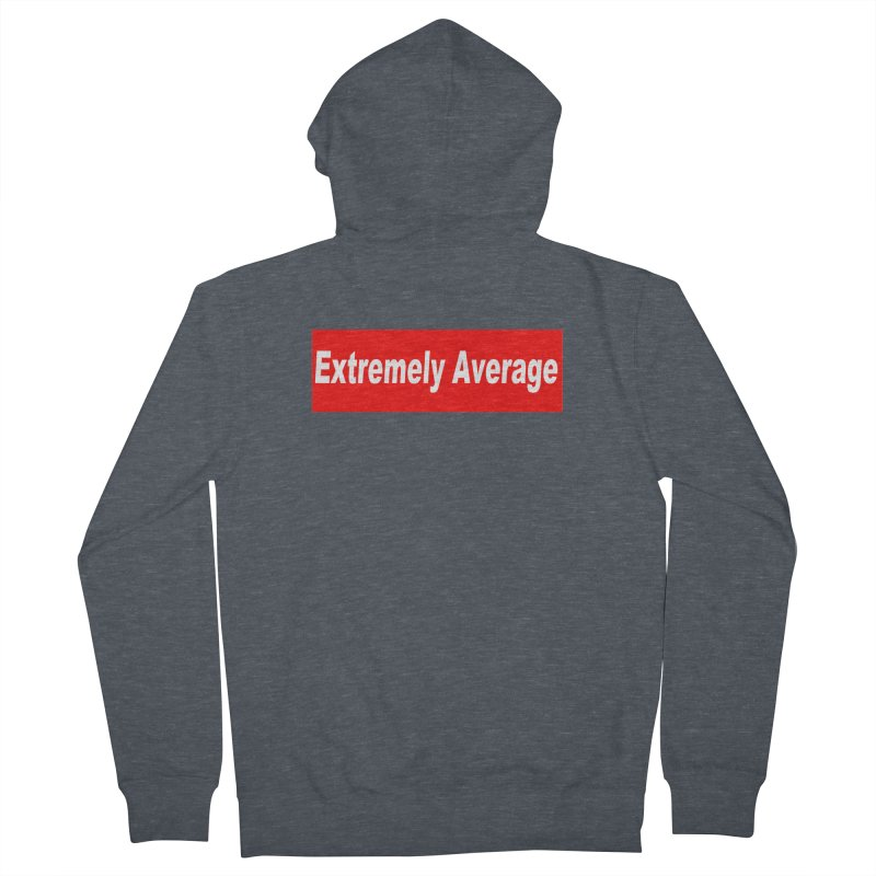 Extremely Average Men's Zip-Up Hoody by doombxny's Artist Shop