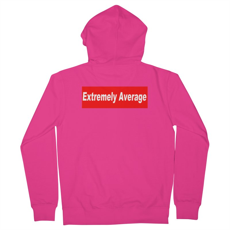 Extremely Average Men's French Terry Zip-Up Hoody by doombxny's Artist Shop