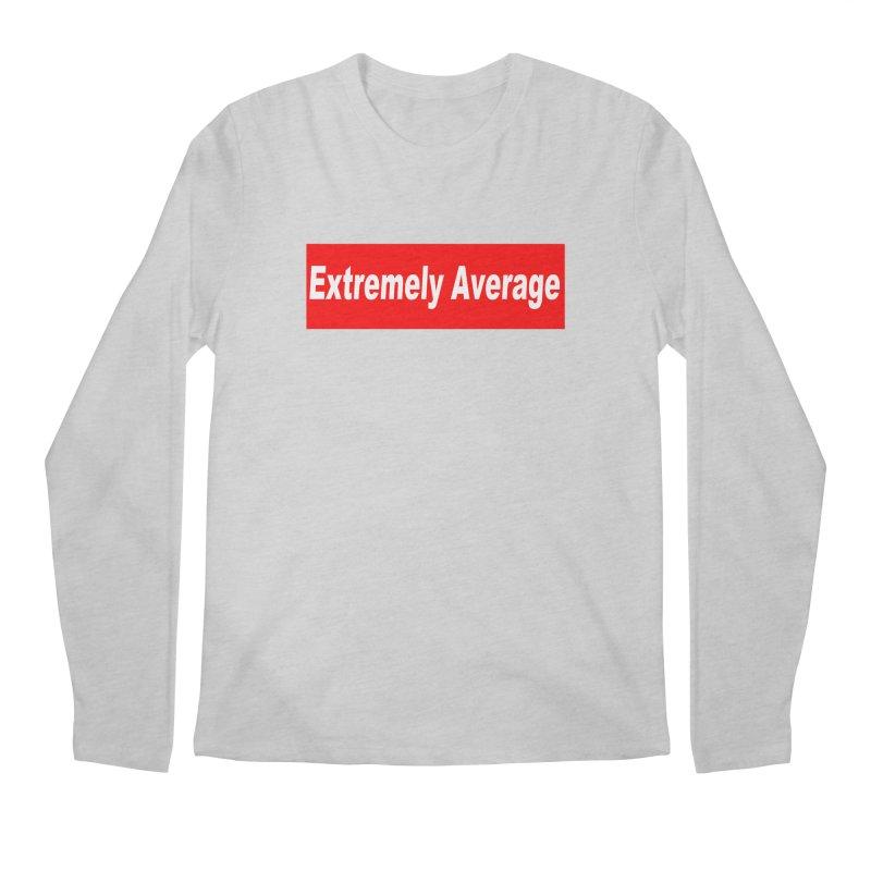 Extremely Average Men's Regular Longsleeve T-Shirt by doombxny's Artist Shop