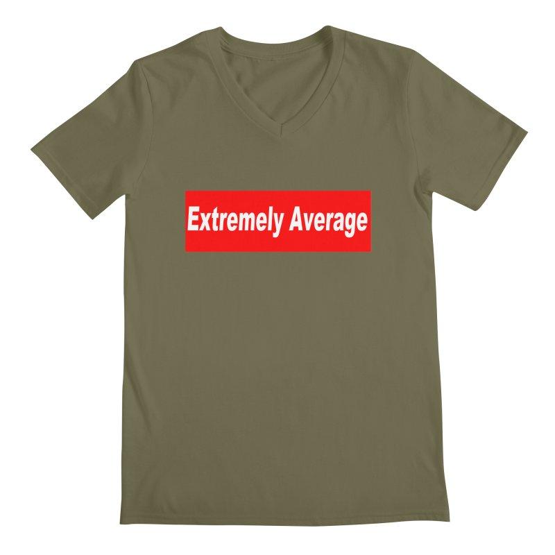 Extremely Average Men's Regular V-Neck by doombxny's Artist Shop