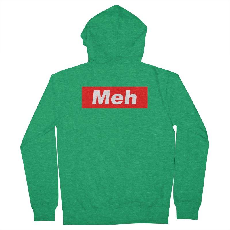 Meh Men's Zip-Up Hoody by doombxny's Artist Shop