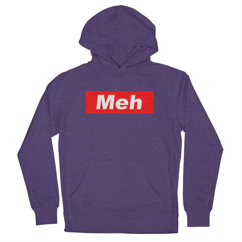 Meh Men's French Terry Pullover Hoody by doombxny's Artist Shop