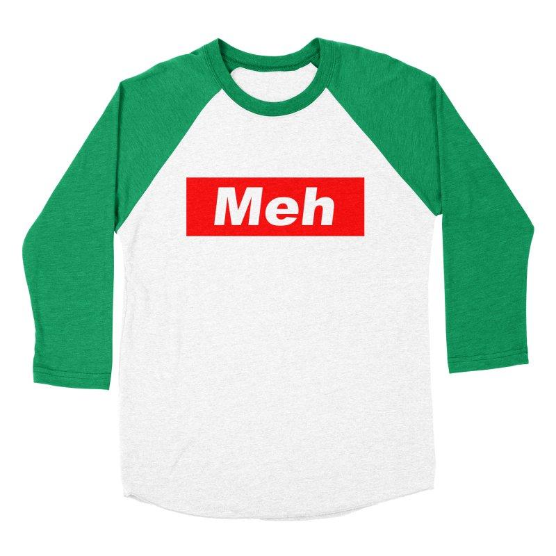 Meh Men's Baseball Triblend T-Shirt by doombxny's Artist Shop
