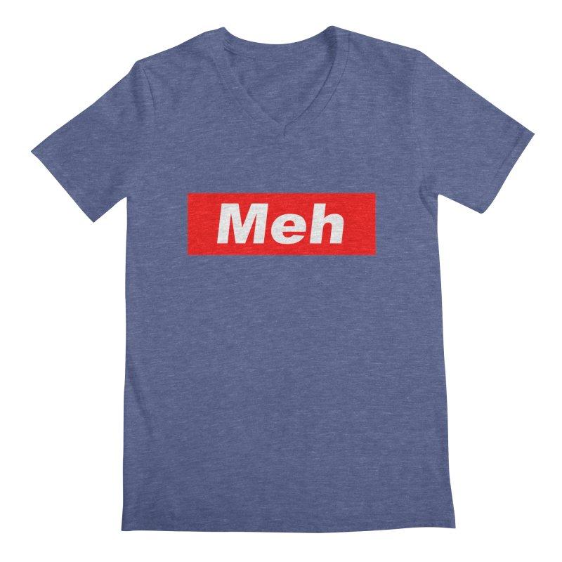 Meh Men's Regular V-Neck by doombxny's Artist Shop