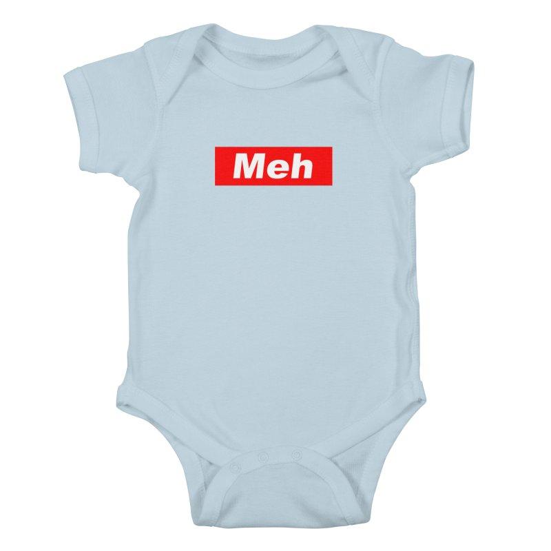 Meh Kids Baby Bodysuit by doombxny's Artist Shop