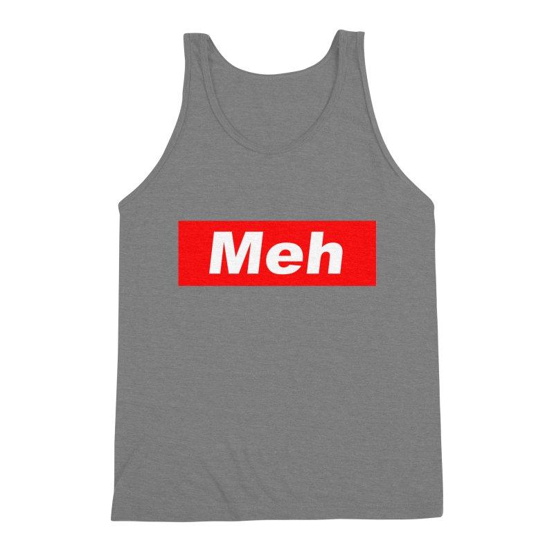 Meh Men's Triblend Tank by doombxny's Artist Shop