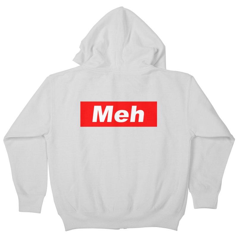 Meh Kids Zip-Up Hoody by doombxny's Artist Shop