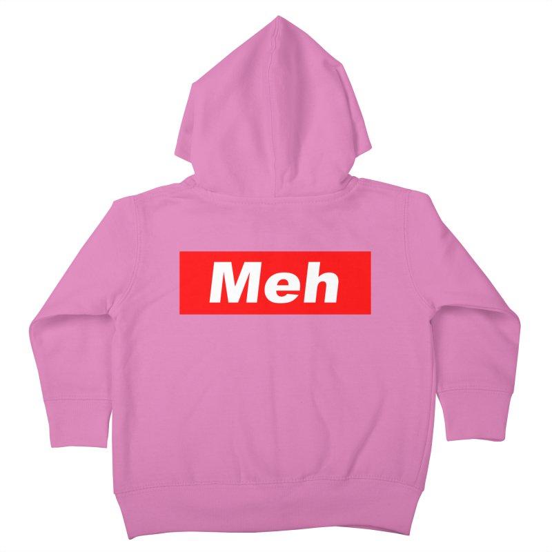 Meh Kids Toddler Zip-Up Hoody by doombxny's Artist Shop
