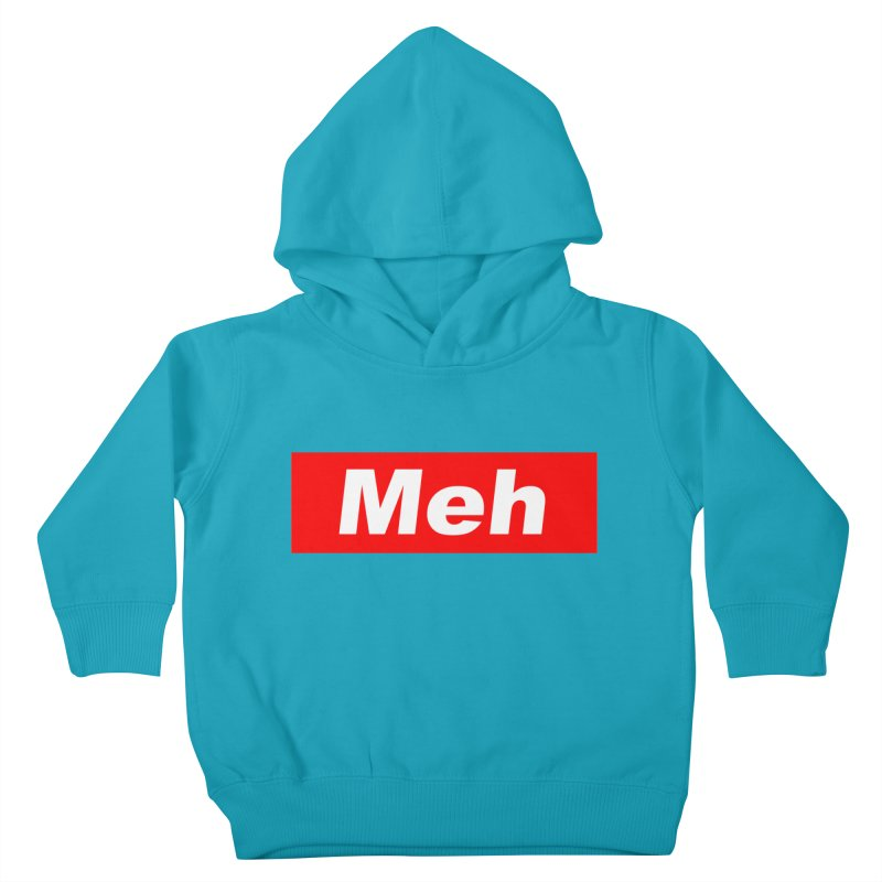 Meh Kids Toddler Pullover Hoody by doombxny's Artist Shop