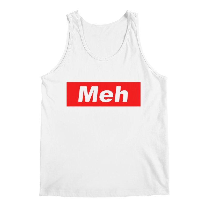 Meh Men's Regular Tank by doombxny's Artist Shop