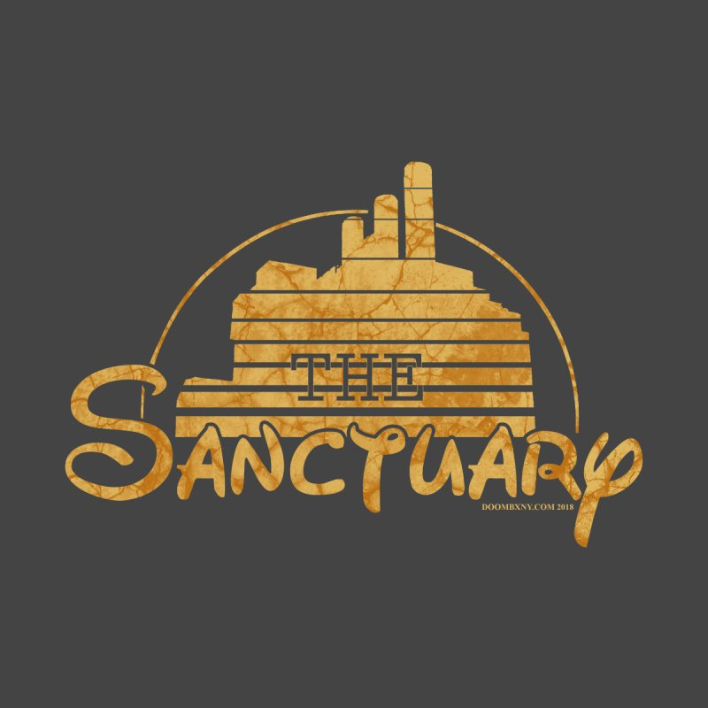 The Sanctuary Women's V-Neck by doombxny's Artist Shop