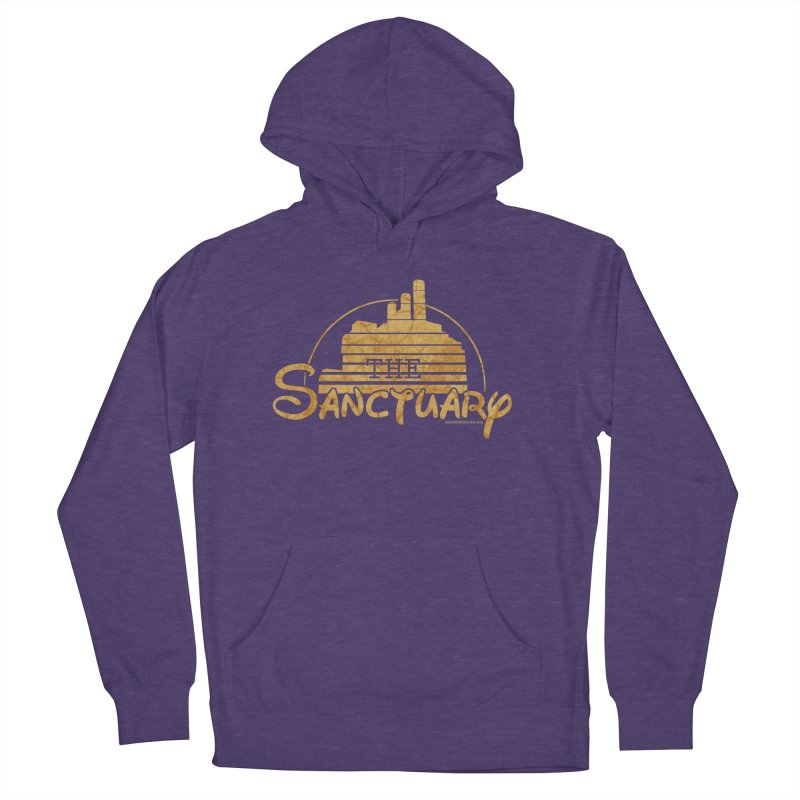 The Sanctuary Women's French Terry Pullover Hoody by doombxny's Artist Shop