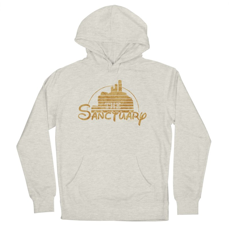 The Sanctuary Men's French Terry Pullover Hoody by doombxny's Artist Shop