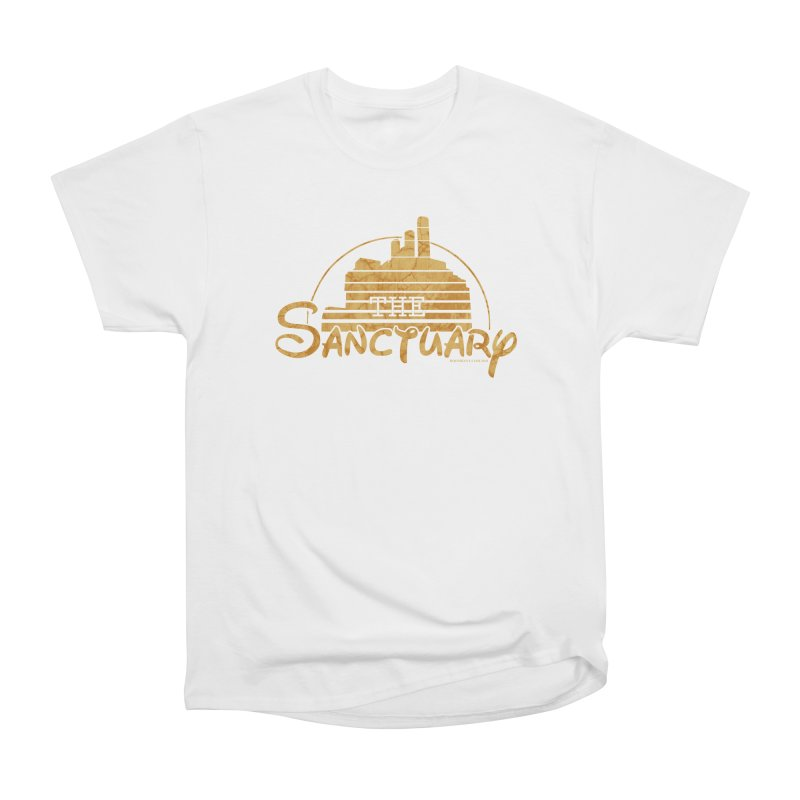 The Sanctuary Men's Heavyweight T-Shirt by doombxny's Artist Shop