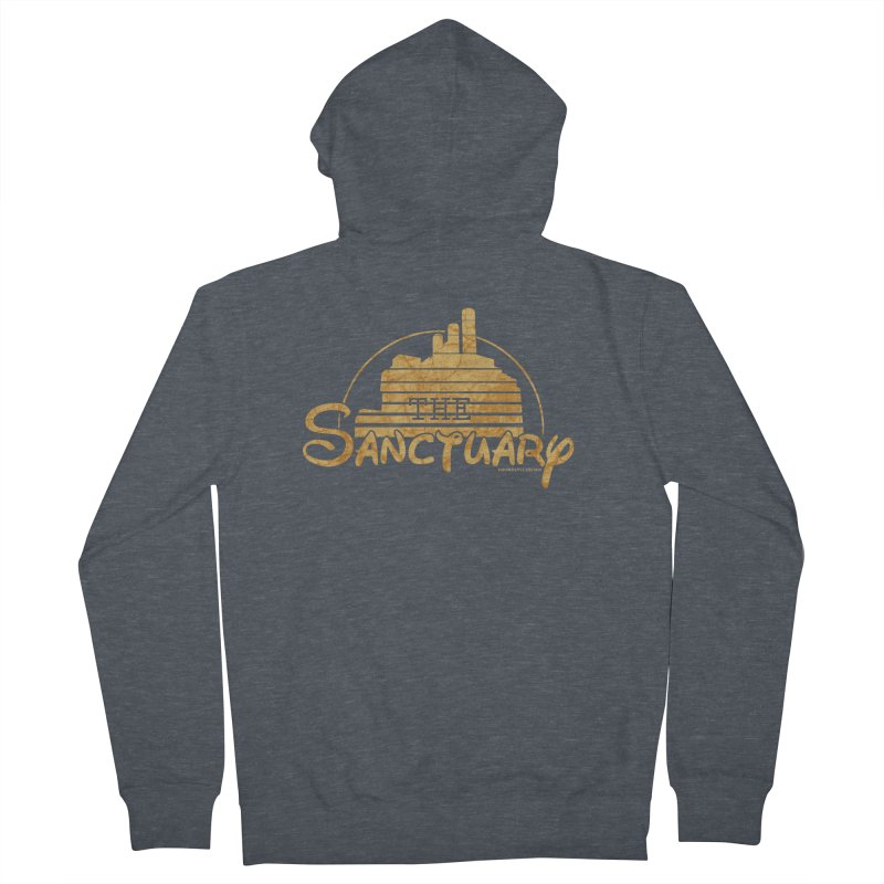 The Sanctuary Men's Zip-Up Hoody by doombxny's Artist Shop