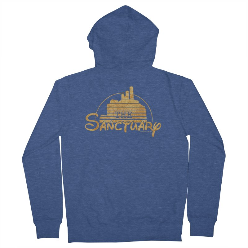 The Sanctuary Men's French Terry Zip-Up Hoody by doombxny's Artist Shop