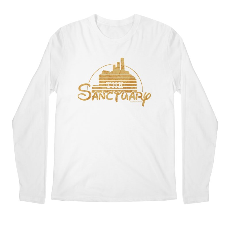 The Sanctuary Men's Regular Longsleeve T-Shirt by doombxny's Artist Shop