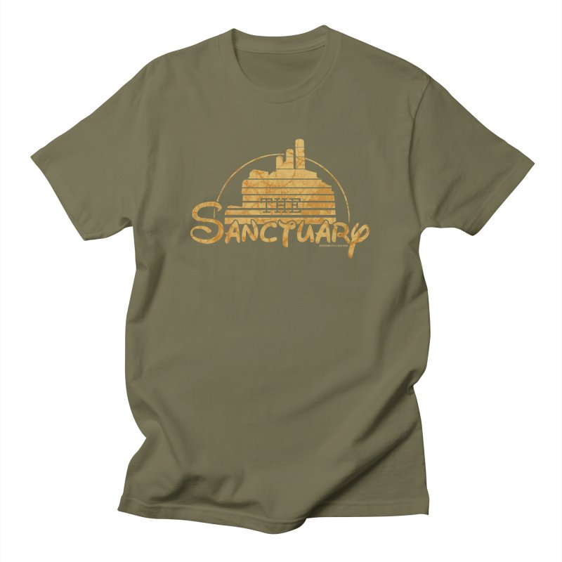The Sanctuary Men's Regular T-Shirt by doombxny's Artist Shop
