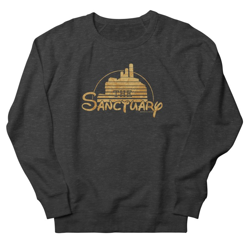 The Sanctuary Men's French Terry Sweatshirt by doombxny's Artist Shop