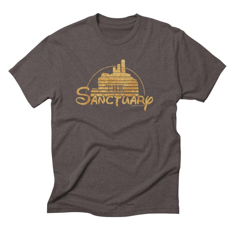 The Sanctuary Men's Triblend T-Shirt by doombxny's Artist Shop