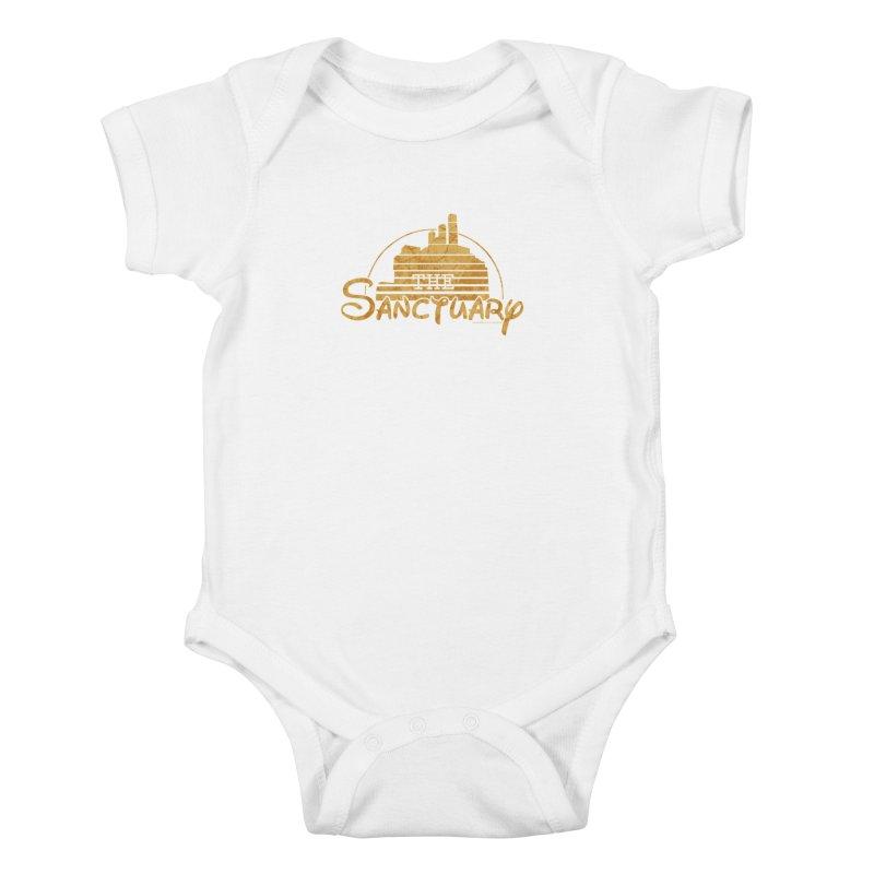 The Sanctuary Kids Baby Bodysuit by doombxny's Artist Shop