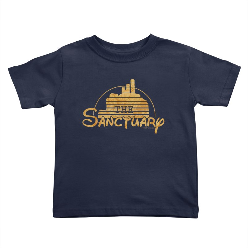 The Sanctuary Kids Toddler T-Shirt by doombxny's Artist Shop