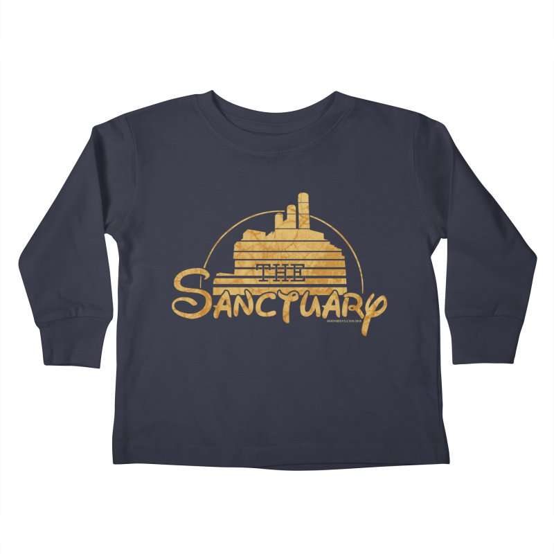 The Sanctuary Kids Toddler Longsleeve T-Shirt by doombxny's Artist Shop