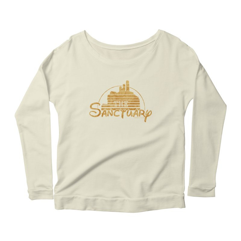The Sanctuary Women's Scoop Neck Longsleeve T-Shirt by doombxny's Artist Shop