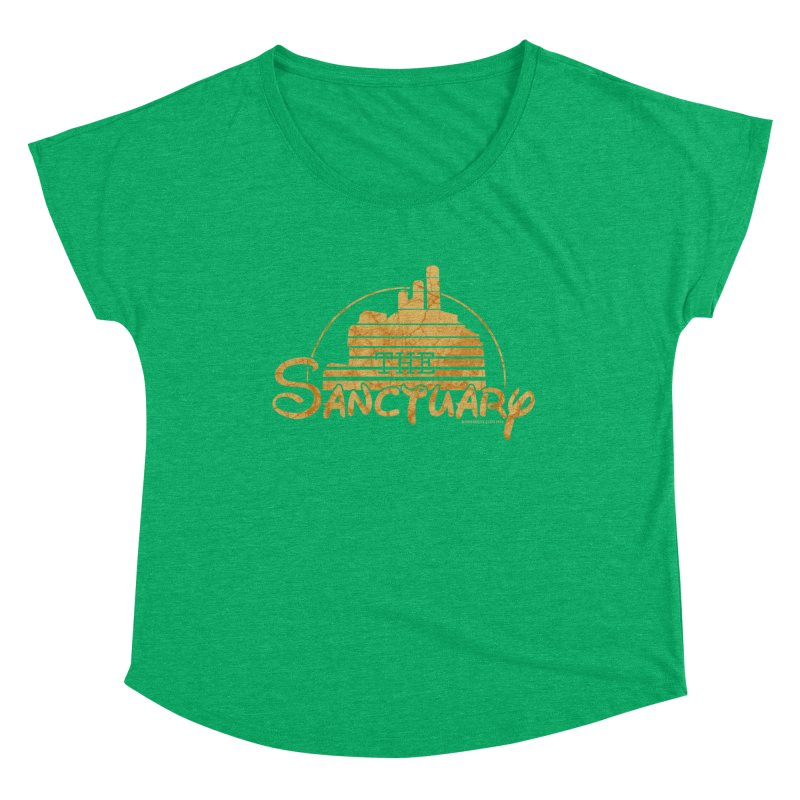 The Sanctuary Women's Scoop Neck by doombxny's Artist Shop
