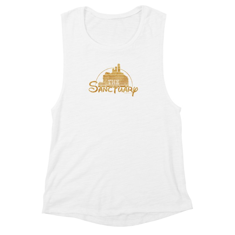 The Sanctuary Women's Muscle Tank by doombxny's Artist Shop