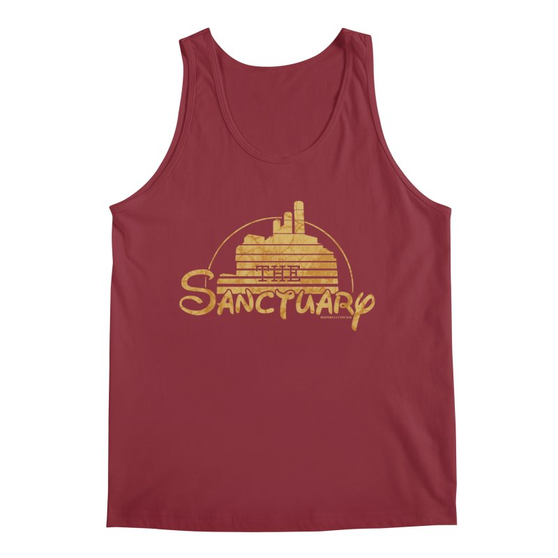 The Sanctuary Men's Regular Tank by doombxny's Artist Shop