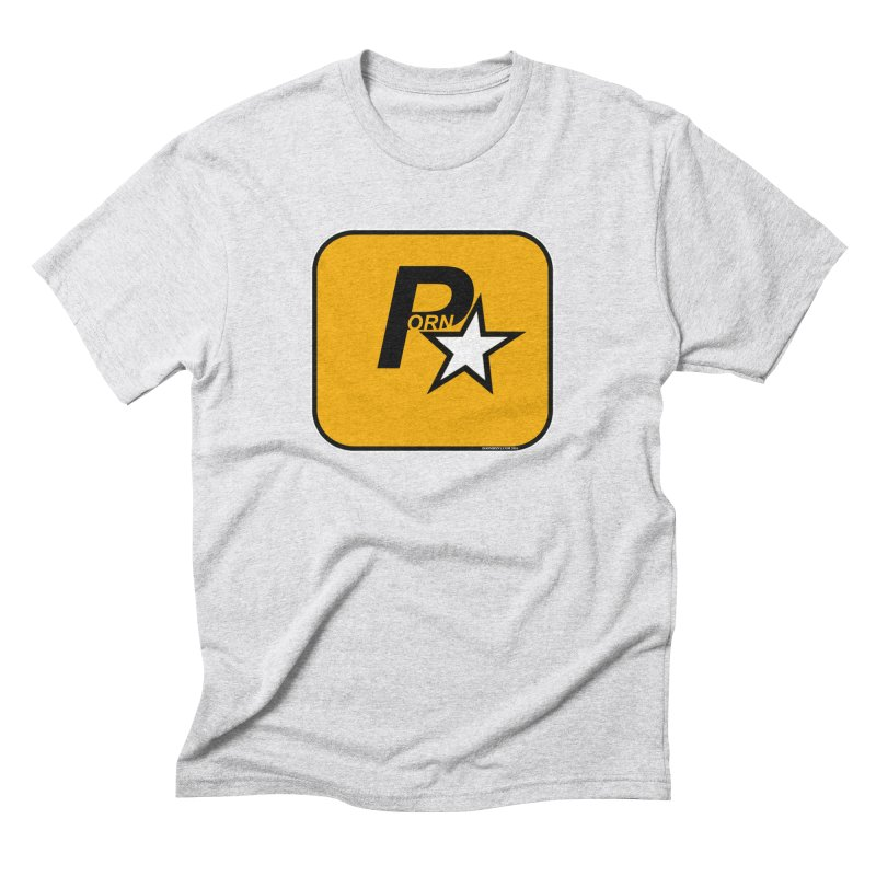 Porn Star Men's T-Shirt by doombxny's Artist Shop