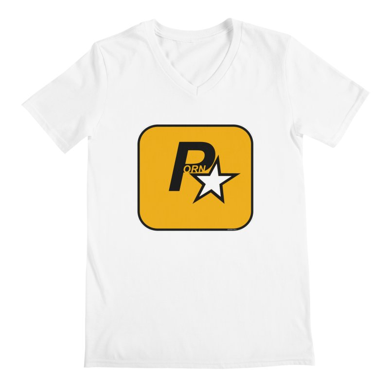 Porn Star Men's V-Neck by doombxny's Artist Shop